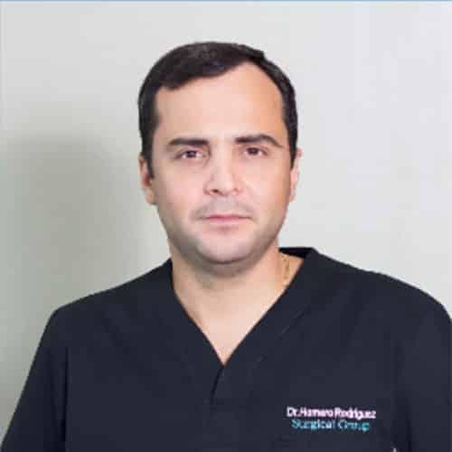 Dr. Homero Rodríguez Zentner, Anastomosis Intestinales
